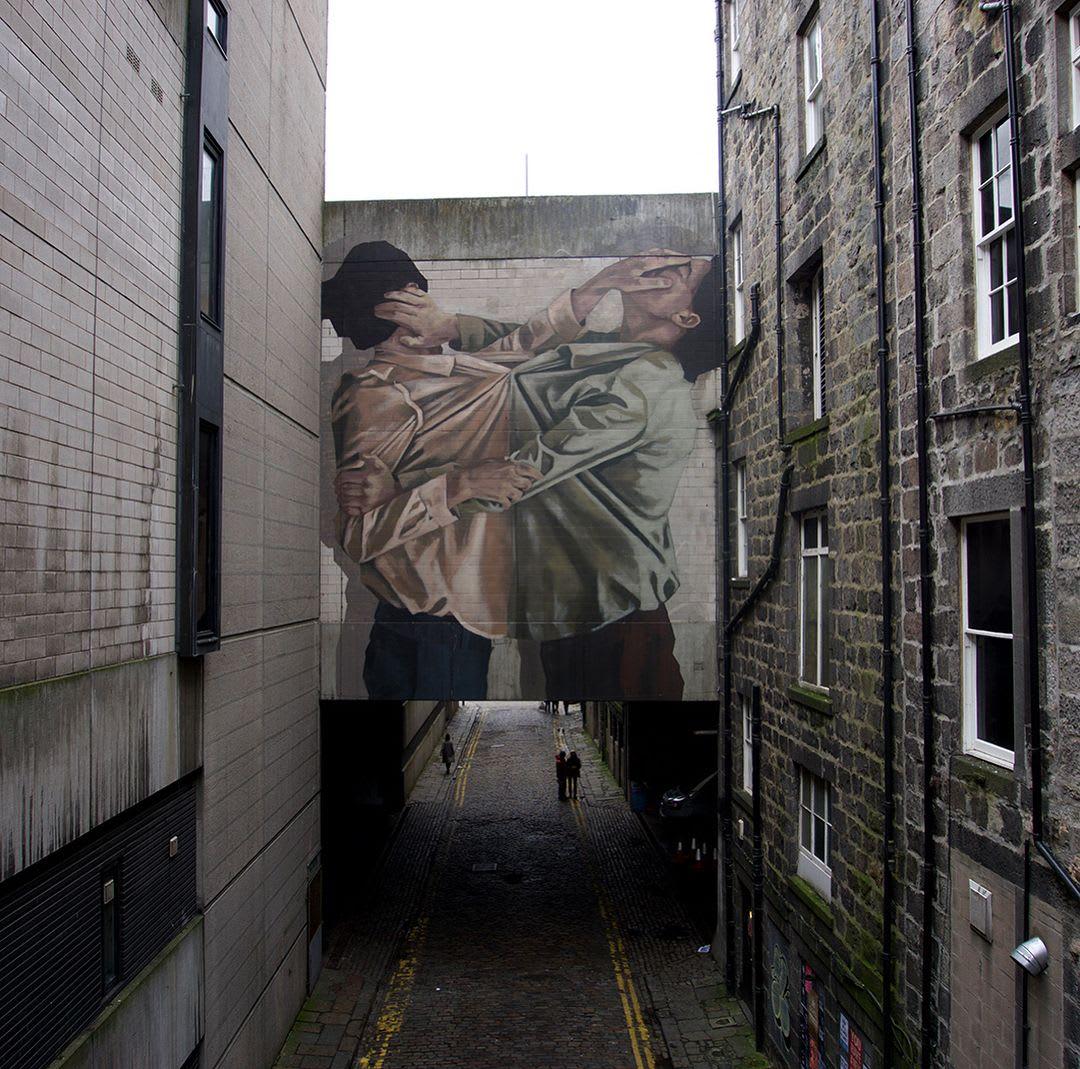 Œuvre Par Hyuro à Aberdeen