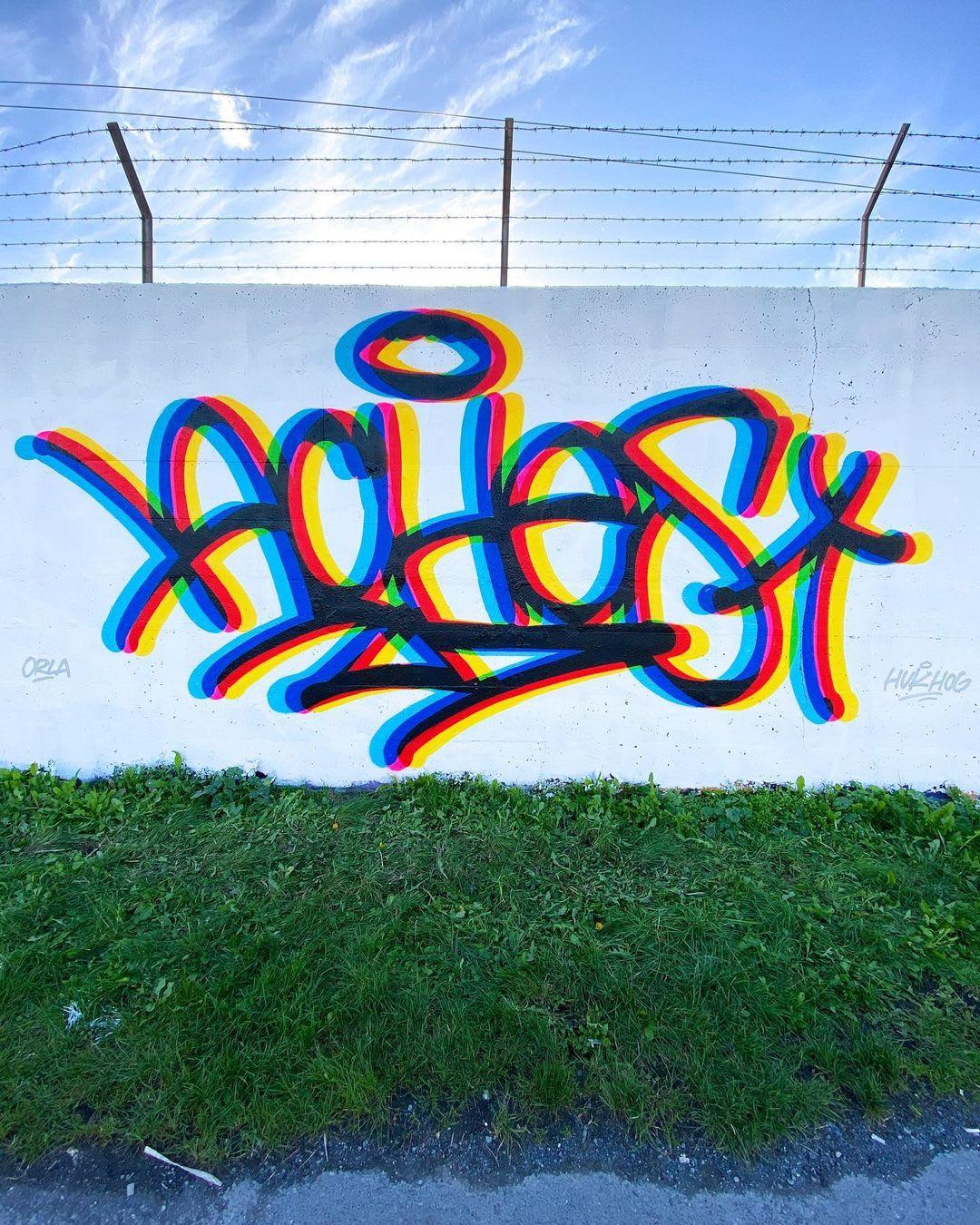 Artwork By Aches in Dublin