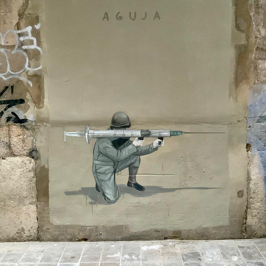 Œuvre  à Valence