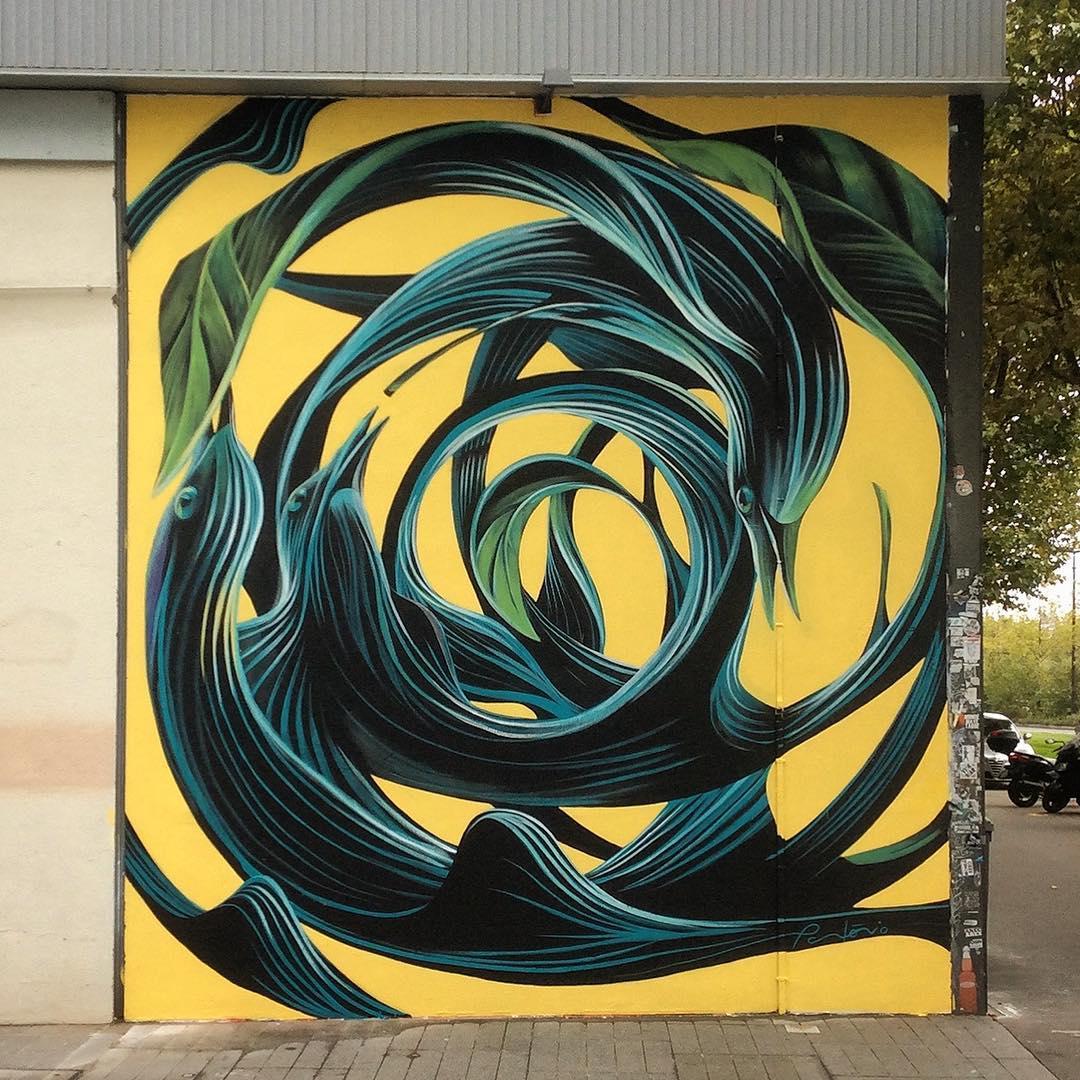 Artwork By Pantonio in Paris