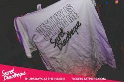 Secret Discotheque - Tee-Shirt Give Away! (04-10-18)