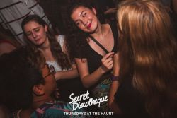 Secret Discotheque - The Last One At The Haunt. Ever! (29-08-19)