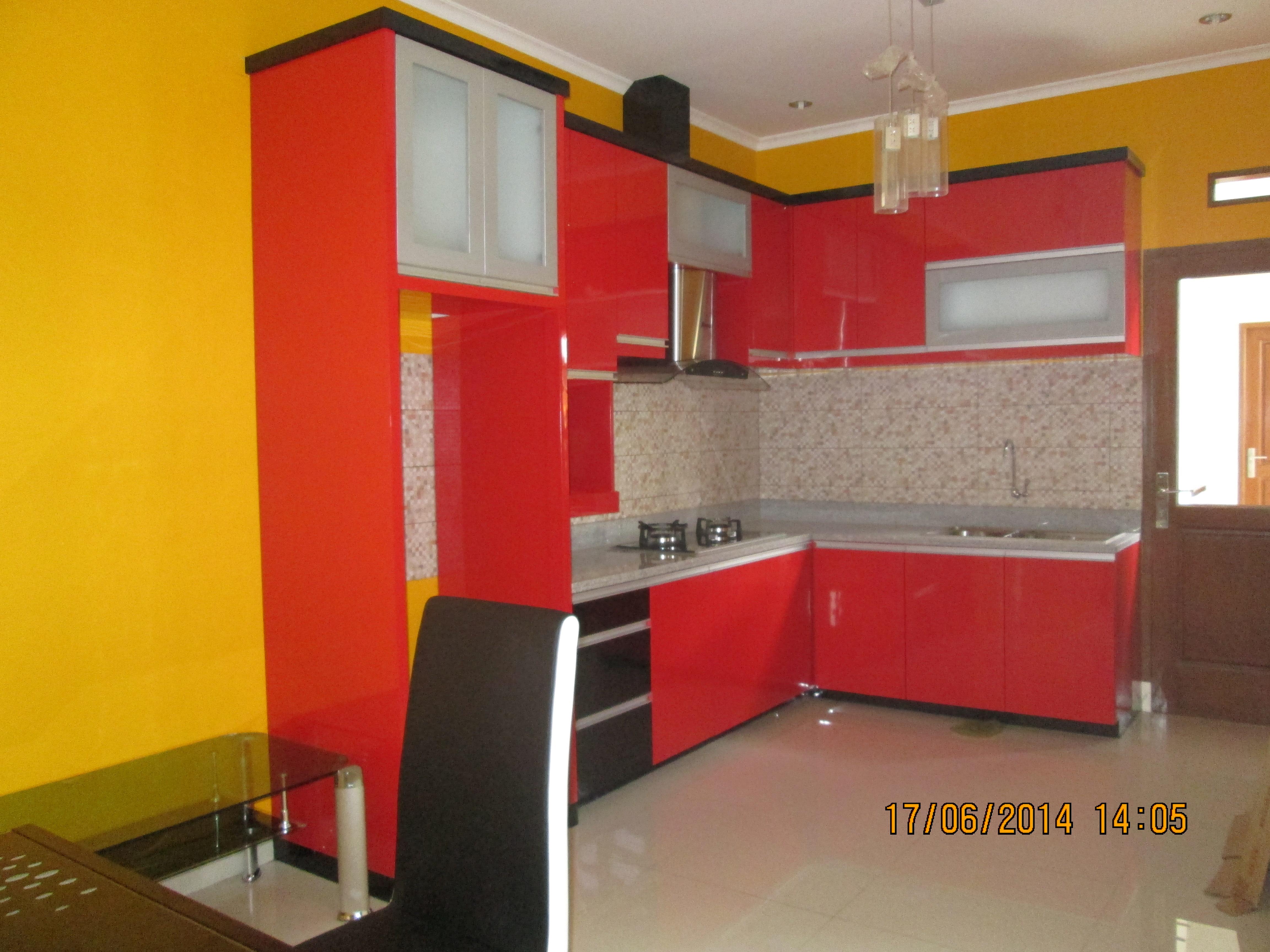 Red Kitchen Set | Niaga Art