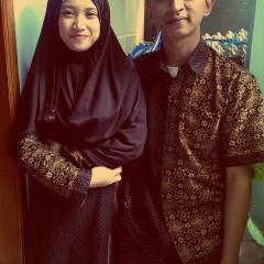 Eid Al-Fitr with My Wife