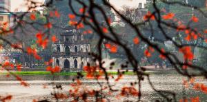 A Splendid changeover of hanoi in autumn