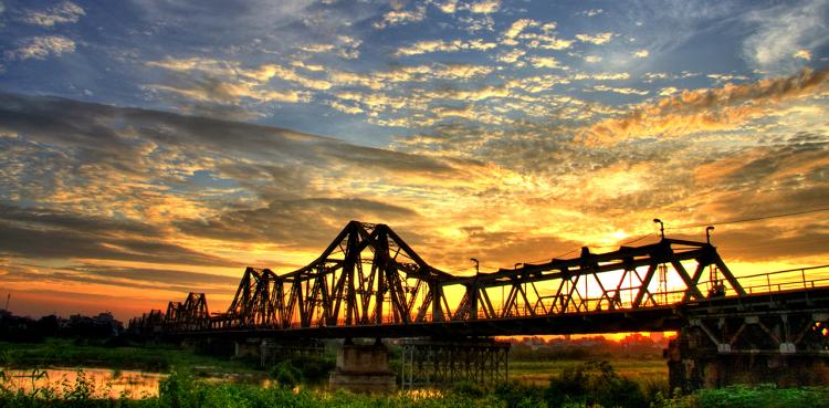 Where To Capture The Romantic Sunset in Hanoi