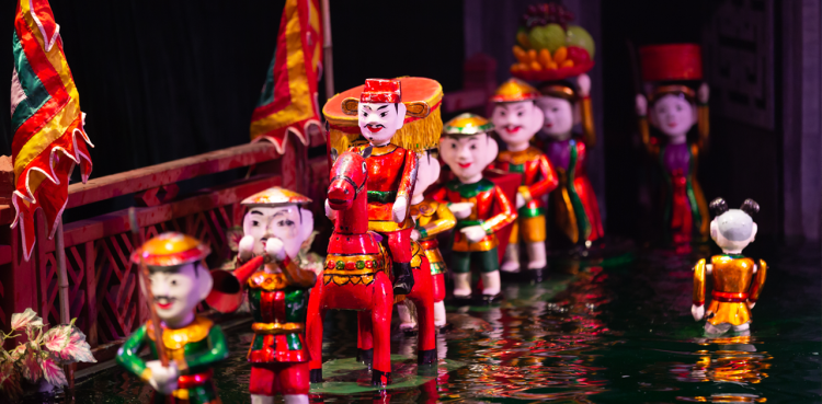 Hanoi Authentic Must-watch Water Puppet Show