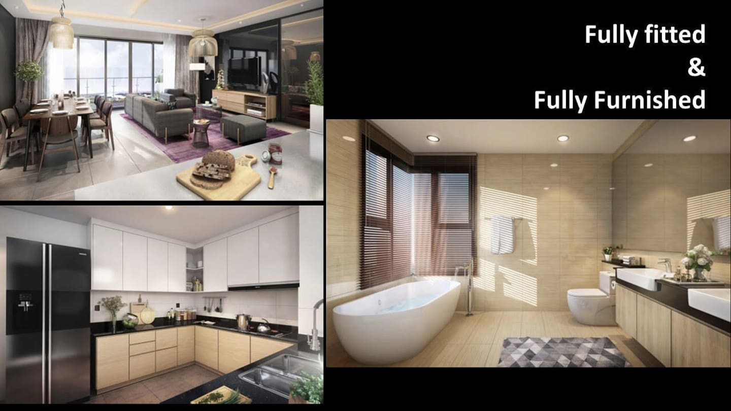 [SELL] FELIZ EN VISTA DINEZO TOWER - FULLY FURNISHED 2BR UNIT VI - banner