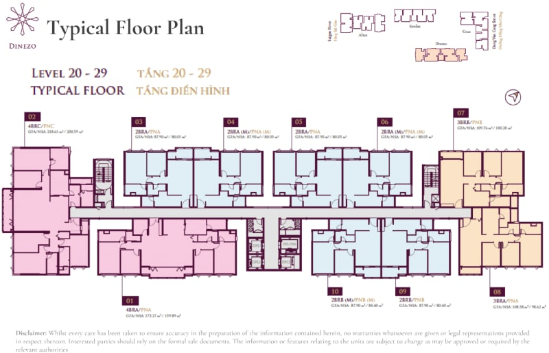 Dinezo Floor Plan