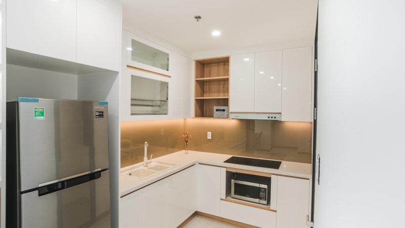 Kitchen with modern Appliance