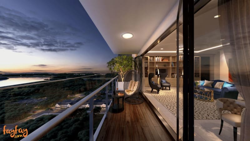 View from 4BR Sky Villa