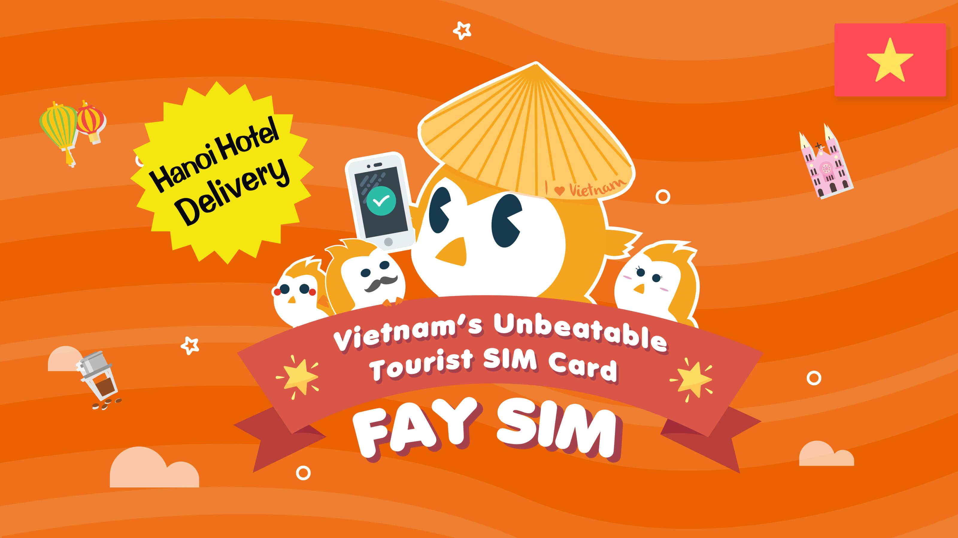 FAY SIM (Hanoi Hotel Delivery)
