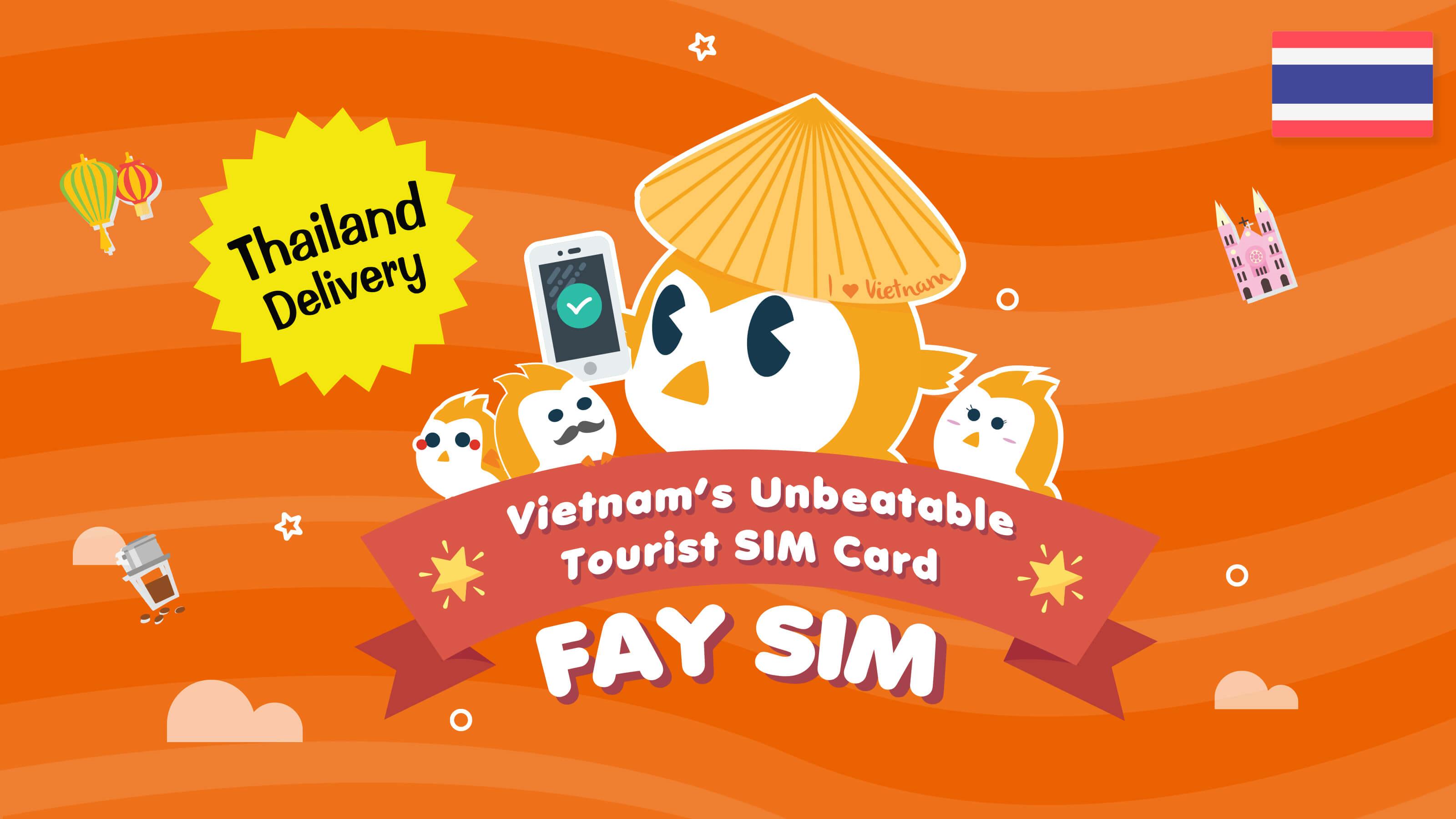 FAY SIM (Thailand Delivery)