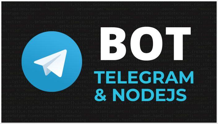 Telegram bot con Nodejs | Telegraf