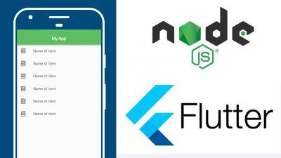Flutter & Nodejs, HTTP GET