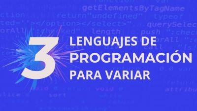 Aprender un lenguaje en tu tiempo Libre | 5 Lenguajes de programación emergentes