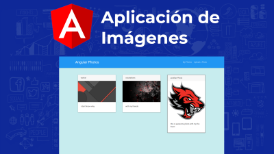 Angular Photo Gallery | Subida de imagenes con Angular