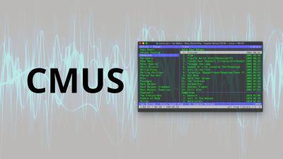 Cmus | Console Music Player, Reproductor de Musica en la terminal