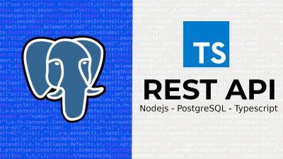 Nodejs, PostgreSQL & Typescript, REST API CRUD