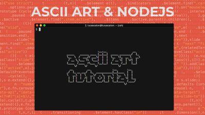 ASCII Art con Nodejs y npm