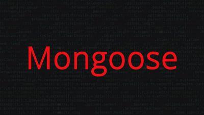 Mongoose | Mongodb ORM
