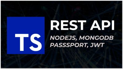 Typescript, Nodejs, Mongodb and JWT | con Passport y Bcrypt