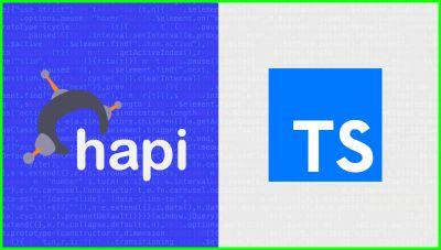 Hapijs Typescript Intro | Proyecto Inicial de ts y hapi