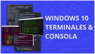 Terminales y Consolas en Windows | Windows Terminal, Cmder, GIt Bash, Powershell