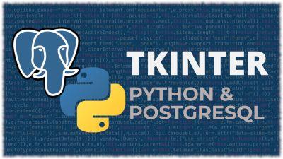 Python Tkinter & PosgreSQL | Aplicación de escritorio con Postgres
