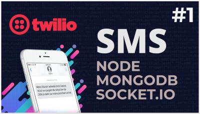 Twilio, Node & Mongodb | Node SMS App