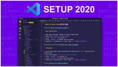 Mi configuracion de Visual Studio en 2020