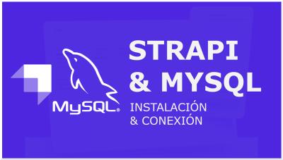 Strapi & MySQL, Conexión simple