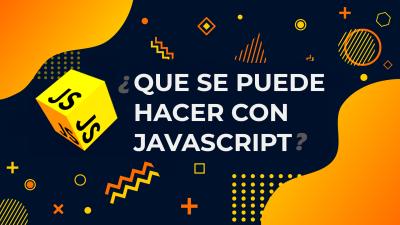 Que se puede hacer con Javascript   Framework y bibliotecas más alla de Paginas web