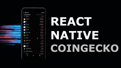 React Native Coingecko API