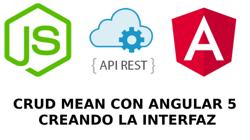 MEAN CRUD - API REST y ANGULAR 5