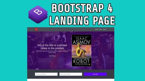 Bootstrap 4, Sitio Web Completo - Landing page