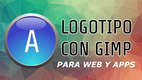Logotipo creado con Gimp, para Web y Apps