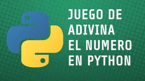 Juego adivina el numero con Python