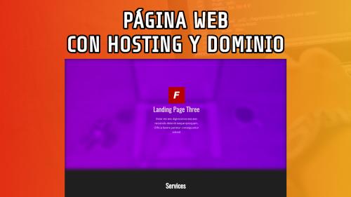 Creando Página web más Hosting y Dominio desde Cero