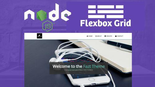 Nodejs y Flexbox - Página Simple