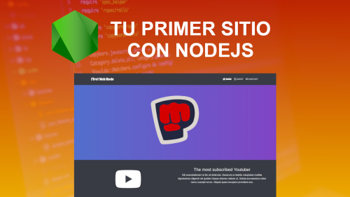 Tu primer Sitio Web con Nodejs