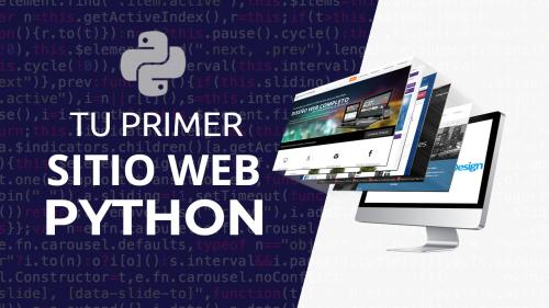 Tu primer Sitio Web con Python y Flask