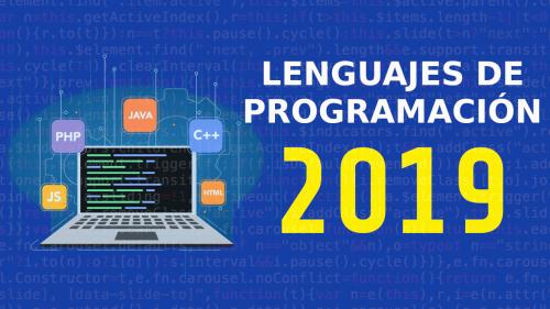 Lenguajes de Programación importantes del 2019