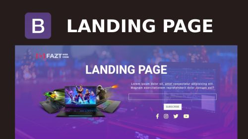Bootstrap4 Landing Page