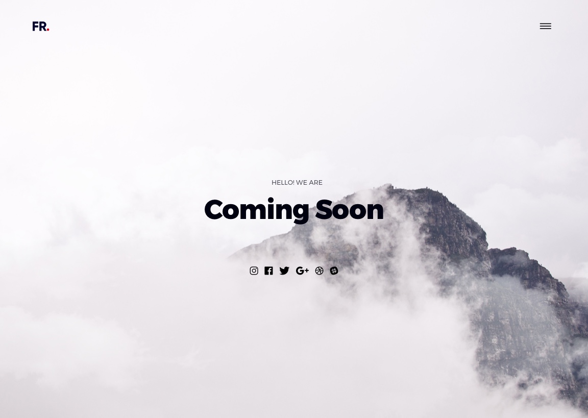 animated clouds, coming soon, faizur rehman