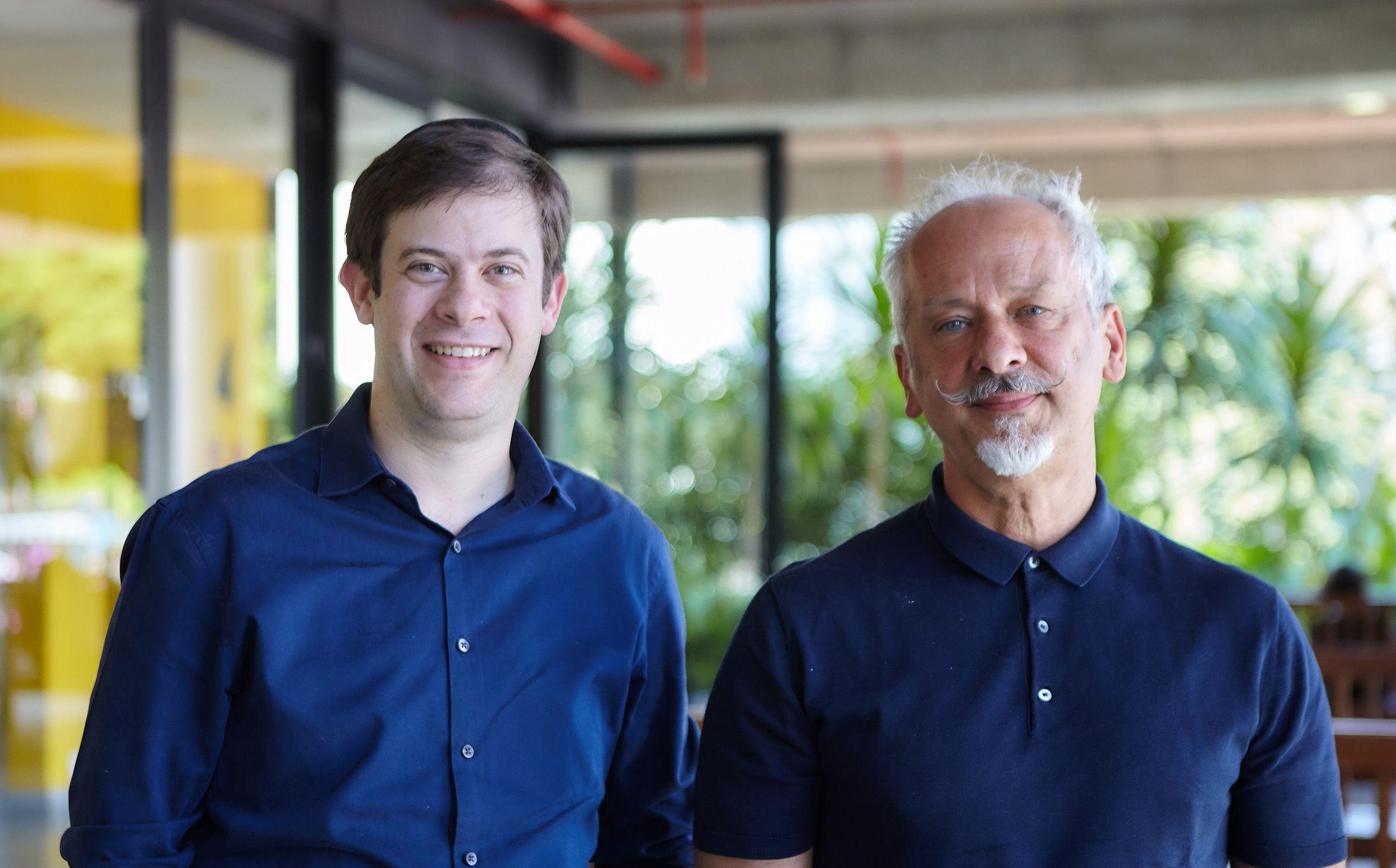 525d4860e Da esquerda para a direita: Roberto Grosman e Fernand Alphen, ambos co-CEOs