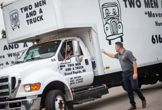 TWO MEN AND A TRUCK—Driving A Recession-Proof Business for More than 30 Years