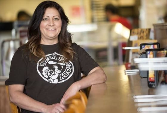 Kimberly Lombardi, Franchisee of Pizza Factory