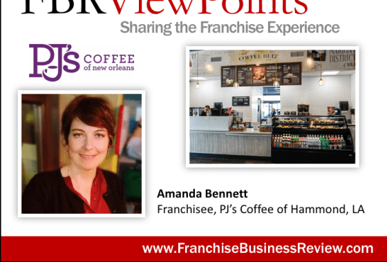 Amanda Bennett, Franchisee of PJ's Coffee