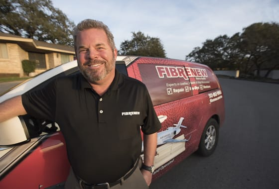 Franchising with Fibrenew Gave Craig Burton Job Stability and More Family Time